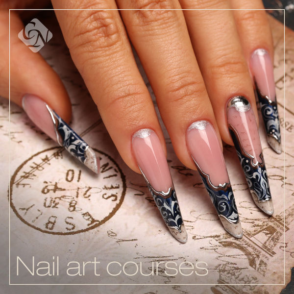 Combined nail art course