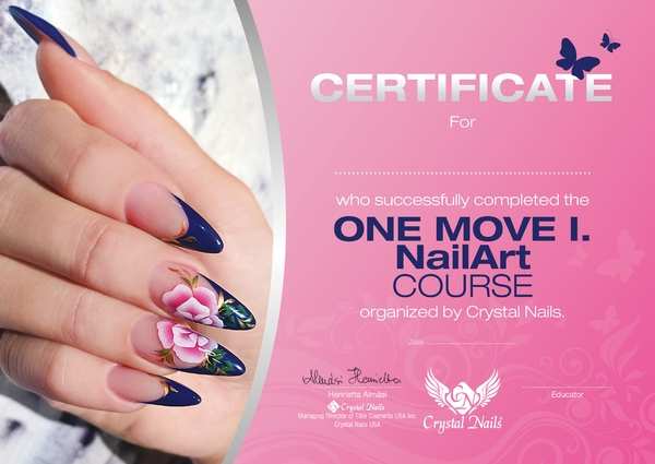 One Move I. nail art course