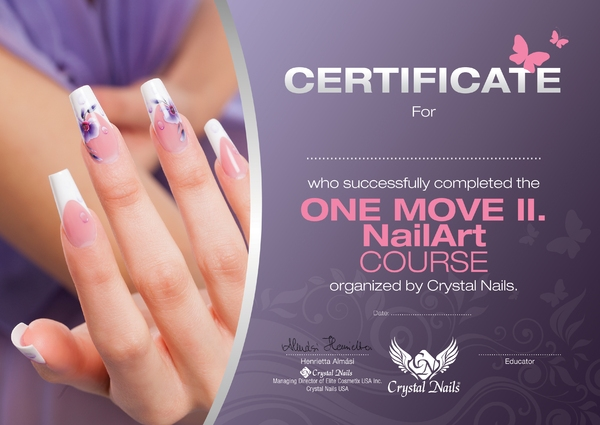 One Move II. nail art course
