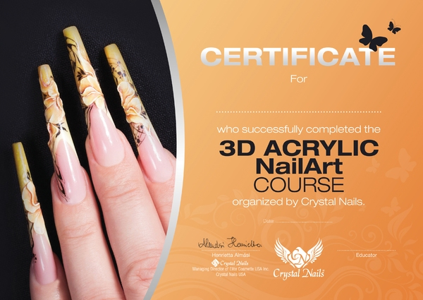 3D Acrylic art course